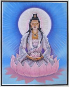 kwan yin lotus